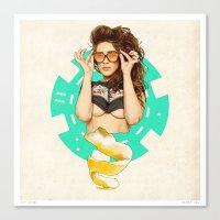 Mrs. Nevada Canvas Print