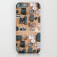 iPhone & iPod Case featuring Cameras Organized Neatly by Leslee Mitchell