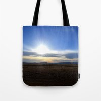Wyoming Sunset 1 Tote Bag