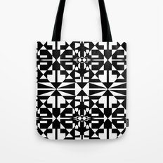 Black and White Tile 5/4/2013 Tote Bag