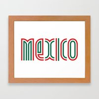 Mexico! Framed Art Print