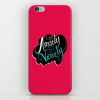 Anxiety Variety iPhone & iPod Skin
