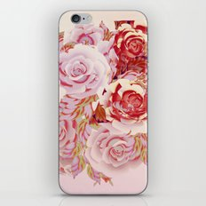composition florale en rose iPhone & iPod Skin
