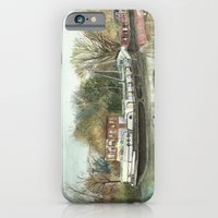 iPhone & iPod Case featuring Rosa on the Grand Union Canal by Donna Marie Strachan