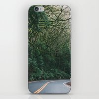 drive through the woods iPhone & iPod Skin