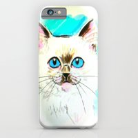 iPhone & iPod Case featuring Kitty by kyleray3000