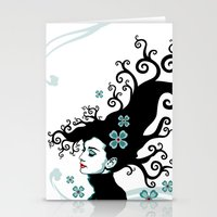 Audrey Hepburn Natural L… Stationery Cards