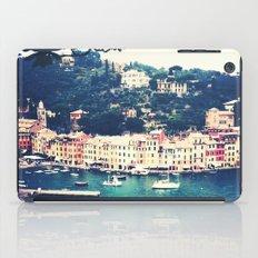 A vintage day in Portofino iPad Case