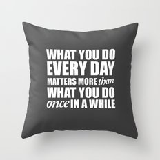 repeat Throw Pillow