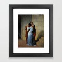 Francesco Hayez - The Ki… Framed Art Print