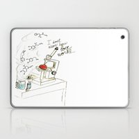 I Don't Know How Love Wo… Laptop & iPad Skin