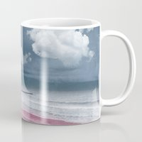 LONELY BEACH Mug