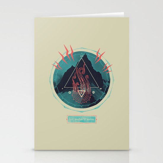 Mountain of Madness Stationery Card