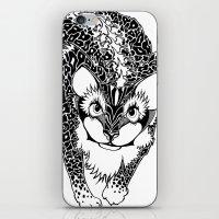 Black Cheetah iPhone & iPod Skin