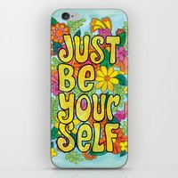 Just Be Yourself iPhone & iPod Skin