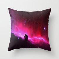 Star Tide Throw Pillow