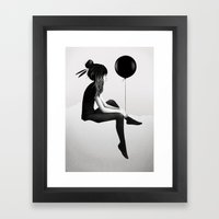 No Such Thing As Nothing Framed Art Print