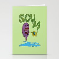 Scum Stationery Cards