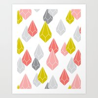 Raining Gems - Enchanted Art Print