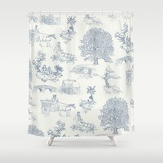 Shire Toile Shower Curtain