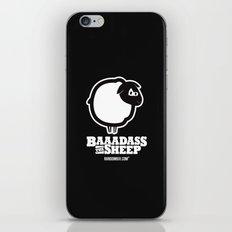 Baaadass the Sheep iPhone & iPod Skin