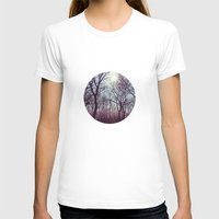 Good Morning Spring Womens Fitted Tee White SMALL
