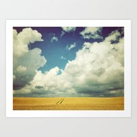 Into the Great Wide Open Art Print