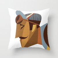 Maino Color Throw Pillow
