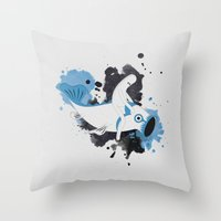 Pescerello Throw Pillow