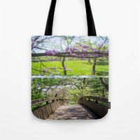 Bridges and Branches Tote Bag