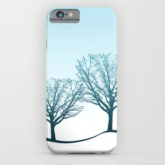 Twin Trees iPhone & iPod Case
