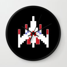 Galaga Fighter Wall Clock