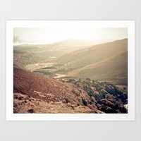 Mountains Of Ireland. Art Print