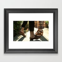 What Have I Done But Wan… Framed Art Print