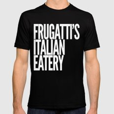 Frugatti's 2 SMALL Black Mens Fitted Tee