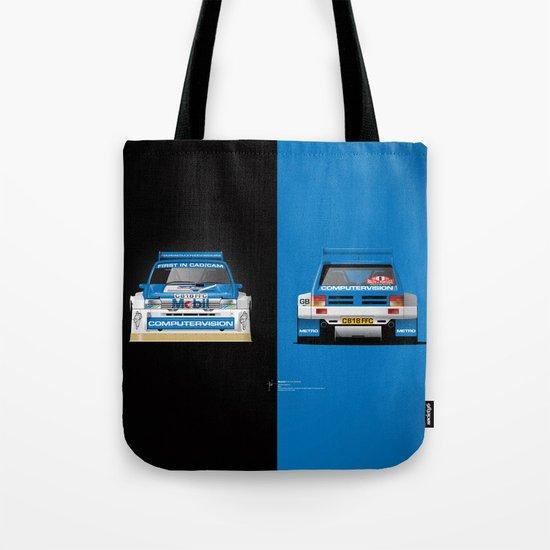 Group B Edition, N.º5, MG Metro 6R4 Tote Bag