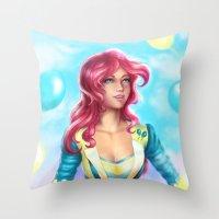 Pinkie pie Throw Pillow