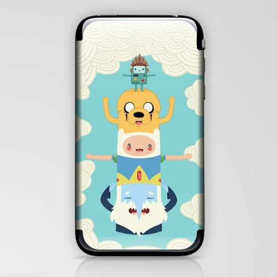 Adventure Totem iPhone & iPod Skin