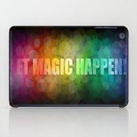 Let Magic Happen! iPad Case