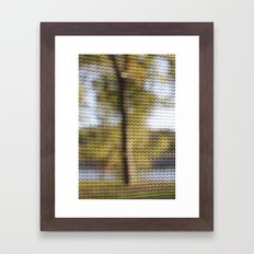 SCREEN Framed Art Print