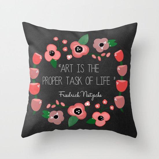 Art is Throw Pillow