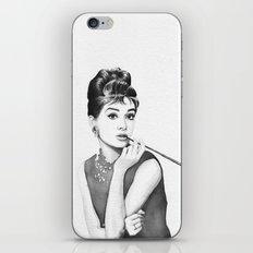 Audrey iPhone & iPod Skin