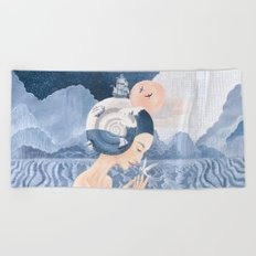 Sound of Sea Beach Towel