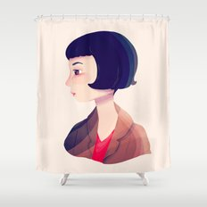 Amelie Shower Curtain