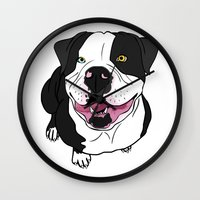 Bubba, The American Bull… Wall Clock