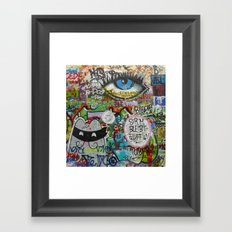If They Don't Let Us Dream Framed Art Print