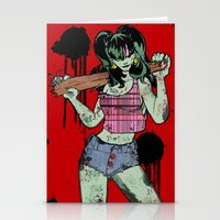 Dead Jenny Stationery Cards