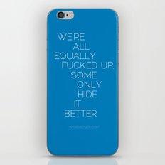 Equally iPhone & iPod Skin