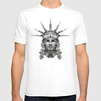 Polygon Heroes - Liberty Mens Fitted Tee White SMALL
