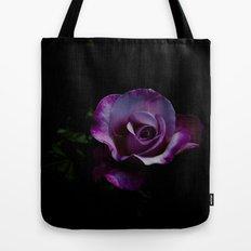 rose in black  Tote Bag